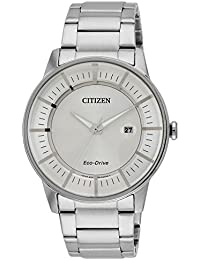 Citizen Herren-Armbanduhr Analog Quarz Edelstahl AW1260-50A