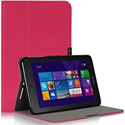 I-blason Asus Vivotab Note 8 Case - Executive Hard Shell Stand Case Cover For M80t [Life Time Warranty] (Magenta, Asus Vivotab Note 8)