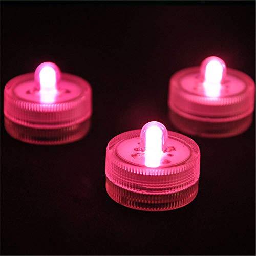 LILITRADE Candle Light Realistische und hell flackernde flammenlose wasserdichte Hochzeit Tauchbatterie Candle Light für Hochzeit Mittelstücke Party Dekorieren