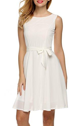Zeagoo Damen Chiffon Kleid Prinzessin Kleid ()