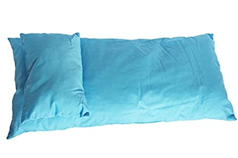 Blue Mattress and Pillow Set For American Girl Dolls and Bitty Twins
