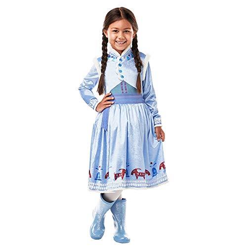 Frozen Deluxe Anna Kostüm - Idealtrend Kostüm Kinder Gr 104-164 Mädchen Jungen Fantasy Fasching Karneval Cosplay Unisex: Farbe: Frozen Anna Deluxe| Größe: 128 (L)