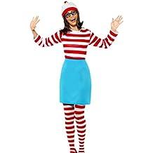 erdbeerloft–Mujer ¿Dónde está Walter? Wanda Wally Disfraz de, disfraz Set, carnaval, 34–38, multicolor