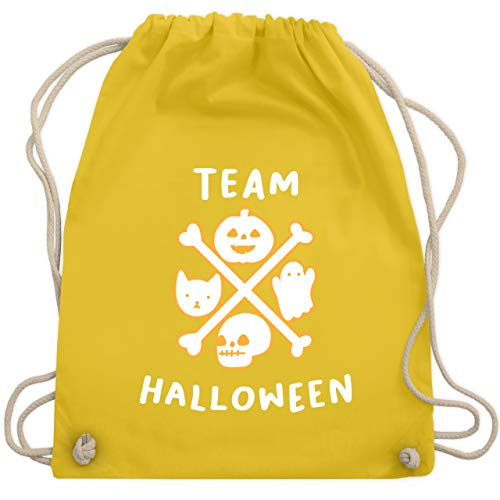 Halloween - Team Halloween - Unisize - Gelb - WM110 - Turnbeutel & Gym Bag