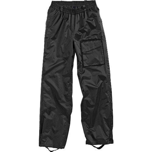 drive Regenhose Damen und Herren wasserdicht Zipp Regenhose schwarz XXL, Unisex, Multipurpose, Ganzjährig, Textil