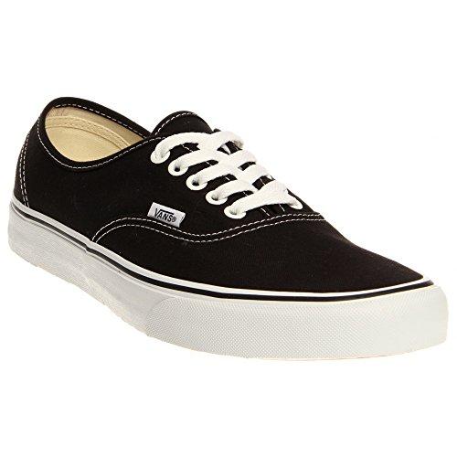 Vans Authentic, Sneaker Unisex – Adulto nero bianco