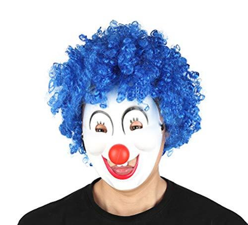 Unisex Hippie-Stil Funky Afro Clown Perücke für Halloween Kostüm Perücke Cosplay ()