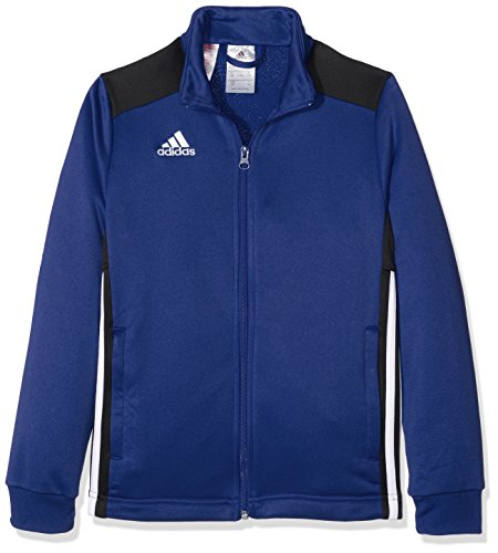 adidas Kinder Regista 18 Jacke, Bold Blue/Black, 140