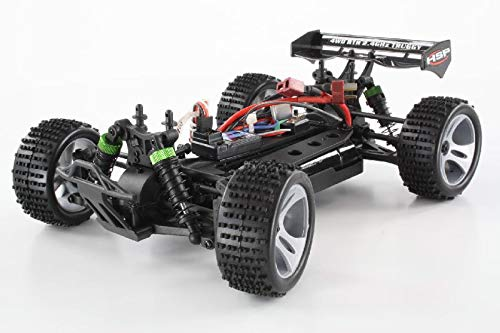 RC Truggy kaufen Truggy Bild 1: HSP Truggy Ghost Pro brushless 1:18 4WD Grün 94803Pro/80397 | Fahrspaß auf kleinsten Raum | Fahrfertiges 1:18 RC-Car | 2.4 Ghz Sender | Ladegerät 250mAh (Ladezeit ca. 5 Stunden) | Fahrakku NiMH 7,2V mit 1100 mAh | Allradantrieb mit 5470kv Brushless Motor | Länge ca. 275mm | Breite ca. 170mm | Höhe ca. 100mm | Radstand ca.160mm*