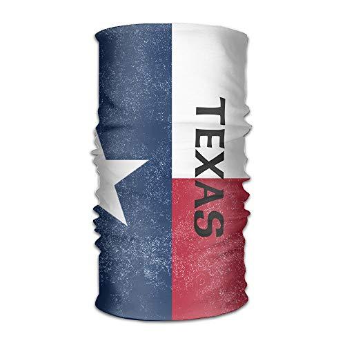 Texas State Flag Multifunctional Magic Headwear 12-in-1
