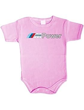 M Power Fan Baby Body Babykleidung Strampler Unterwäsche Weihnachtsgeschenke Xmas Gift