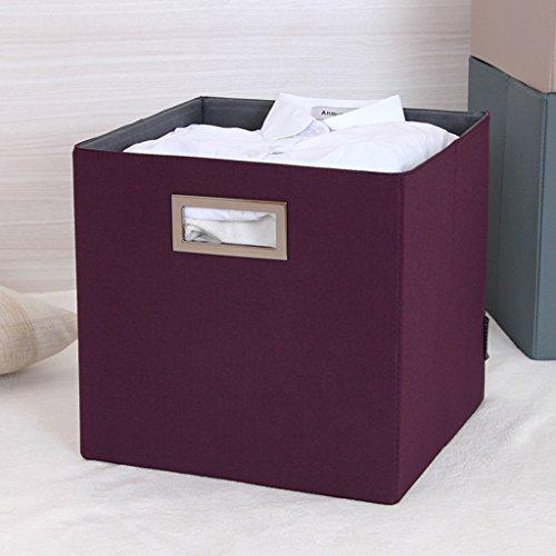 DWW-Panier de rangement Tissu pliant boîte de rangement tiroir jouet boîte de rangement sac de rangement (Couleur : D)
