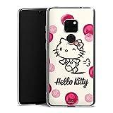 DeinDesign Hülle kompatibel mit Huawei Mate 20 Handyhülle Case Hello Kitty Fanartikel Merchandise Fan Article Merchandise
