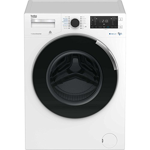 Beko WDR854P14N1W Freestanding A Rated Washer Dryer - White