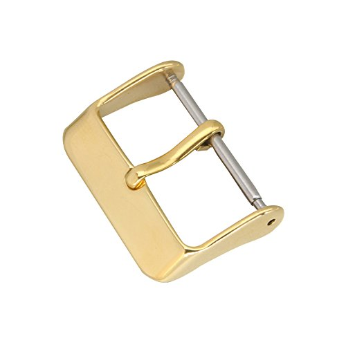 Buckle parts watch strap replacement gold watch strap buckle 16 stainless steel mm watch bracelet clasp