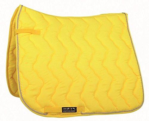 HKM Schabracke -Neon-, Neon gelb, Dressur