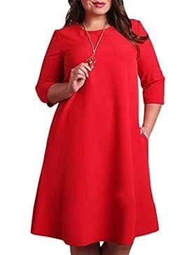 Le Donne Eleganti E 3 / 4 Nella Manica Di Taglia In Bengala Vestito