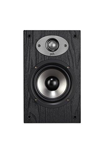 Polk Audio TSx 110B Regal-Lautsprecher (Paar), schwarz