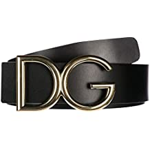 Dolce Gabbana ceinture homme en cuir noir dae51417e82