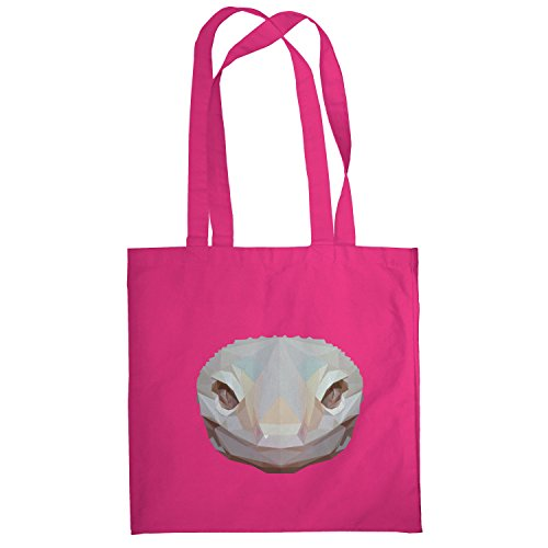 Texlab–Poly Snake–sacchetto di stoffa Pink