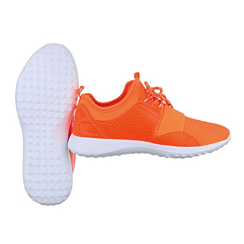 Ital-Design - Scarpe chiuse Donna Orange