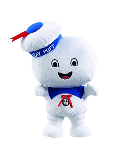 Ghostbusters - GB01028 - Stay Puft Happy Face, Plüschfigur mit Sound, 38 cm (Ghostbusters Stay Puft)