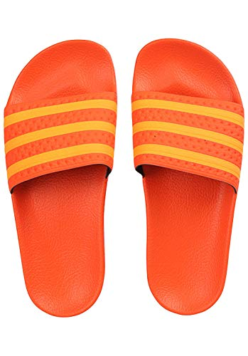 adidas Damen Adilette W Aqua Schuhe, Mehrfarbig Flash Orange Ee6186, 38 EU