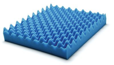 Lumex 7-1630E Convoluted Foam Cushion, 18