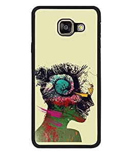 PrintVisa Designer Back Case Cover for Samsung Galaxy A5 (6) 2016 :: Samsung Galaxy A5 2016 Duos :: Samsung Galaxy A5 2016 A510F A510M A510Fd A5100 A510Y :: Samsung Galaxy A5 A510 2016 Edition (Art Print Painting Rock Colourful Girl Beautiful)