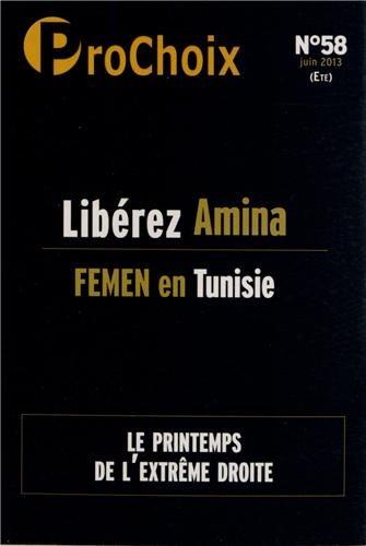 ProChoix, N° 58, juin 2013 : Libérez Amina