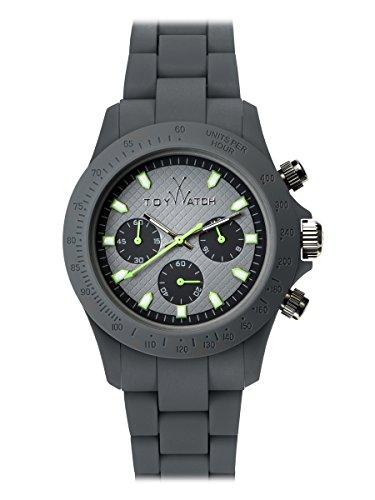 Orologio Toy Watch Velvety VVC08GY Al quarzo (batteria) Silicone Quandrante Grigio Cinturino Silicone