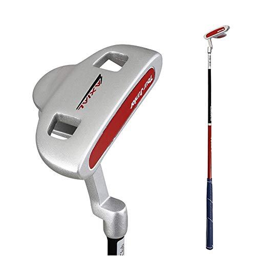 Golfschläger tragen Jungen und Mädchen Golfschläger Anfänger Übungsschläger Indoor- und Outdoor-Golfprodukte Alloy Putter für Kinder von 3 bis 12 Jahren, 24 '', 26 '', 28 '' Golf-Übungsputter