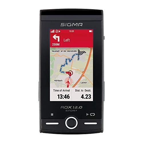 SIGMA SPORT ROX 12.0 Basic, GPS Fahrradcomputer mit Kartennavigation und Farbdisplay