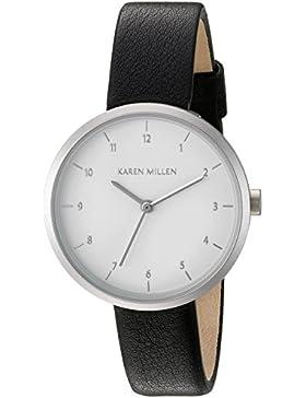 Karen Millen Damen-Armbanduhr Analog Quarz KM135B
