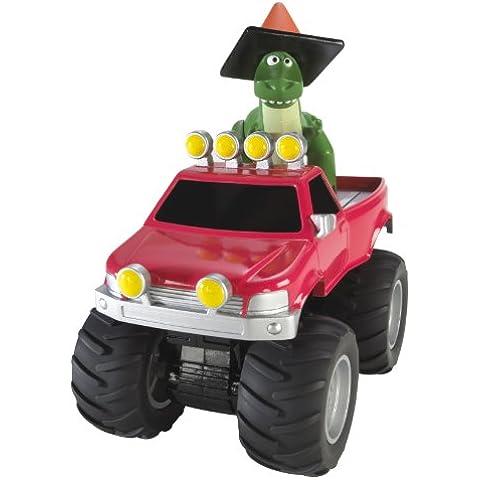 Toy Story - V0865 - figurilla - T-Rex y su tirón hacia atrás del vehículo