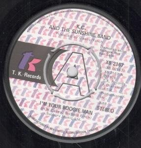 i'm your boogie man / wrap your arms around me 45 rpm single Man Wrap