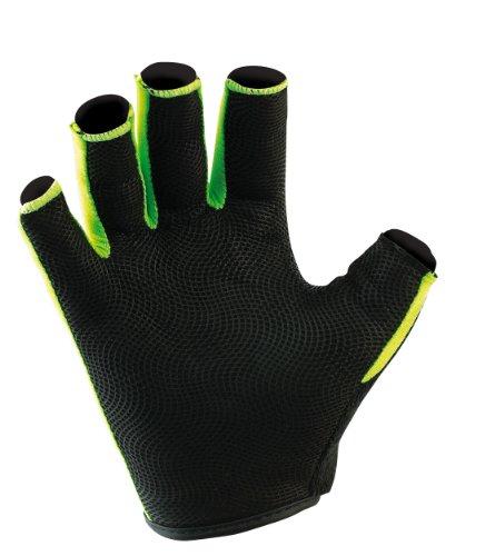 Gilbert Synergie Rugby Handschuh Größe L schwarz/grün