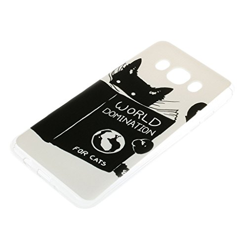 iPhone 6s Plus / iPhone 6 Plus Hülle mit Frei Hartglas Displayschutzfolie, BoxTii Apple iPhone 6 Plus / iPhone 6s Plus TPU Schutzhülle, Weiche Kratzfeste Stoßdämpfende Rückschale Case Cover für Apple  #10 Katze