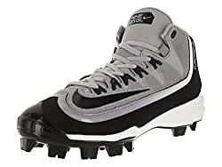 Nike Men's Huarache 2kfilth Pro Baseball Cleat, Wolf Greyblackanthracitewhite, 8.5 D(m) Uk43 D(m) Eu