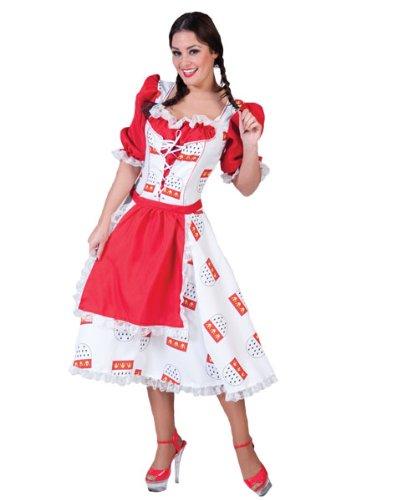 Pierro´s Kostüm Damen Köln Dirndl Colonia Größe 40/42