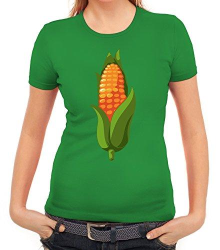 Maiskolben Kostüm für Mais Fans Getreide Verkleidung Karneval -