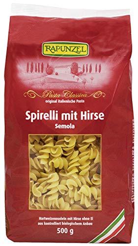 Rapunzel Bio Spirelli mit Hirse Semola, 500 g