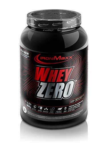 IronMaxx Whey Zero - Dose - Weiße Schokolade, 1er Pack(1 x 908 grams) -