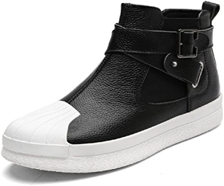 Otoño High-top Zapatos Hombres Versión Coreana Deportes Zapatos Ocasionales Moda Zapatos  -