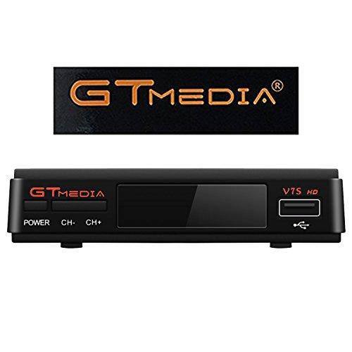GTMDIA V7S DVB-S2 Satellite Receiver Receptor Set Top box Apoyo Powervu Biss Key 1080P HD Apoyo CCCAM Necam Youtube Youporn