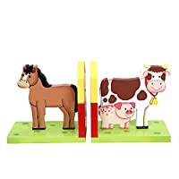 Fantasy Fields by Teamson Childrens Wooden Kids Bookends Decoration Gift