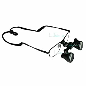 MUW Lunettes Loupe Chirurgie Dentaire Grossissement x 3,5 420 mm