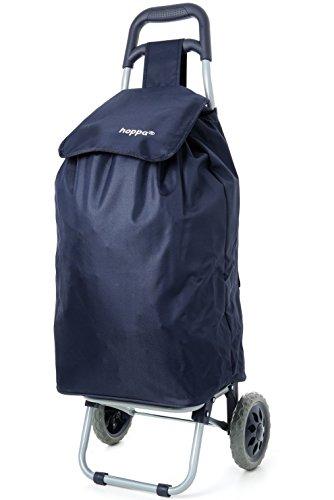 Hoppa Lightweight Shopping Trolley, Hard Wearing & Foldaway For Easy S