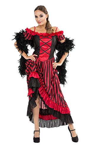 ORION COSTUMES Sexy Can Can/Saloon Girl Costume (Damen Wild West Kostüm)