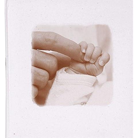 Henzo–Álbum de fotos de bebé–Manos–Para pegar en su libro de fotos–álbum de fotos, 60páginas–Libro–bebé